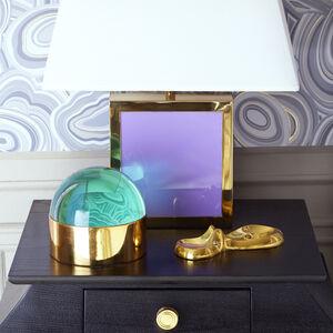 Brass Objets - Swimming Hippo Dish