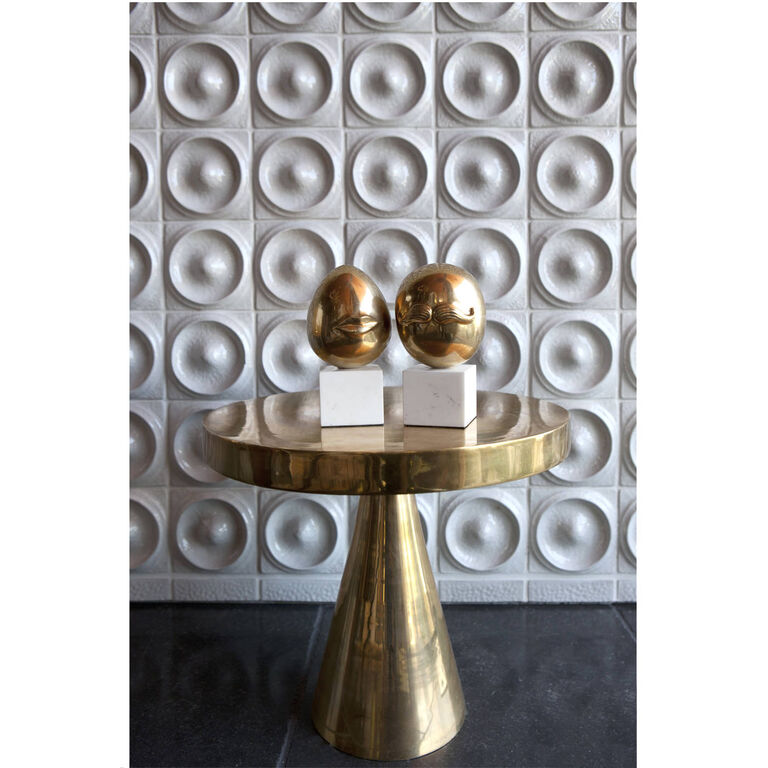 Holding Category for Inventory - Hans Pedestal Side Table